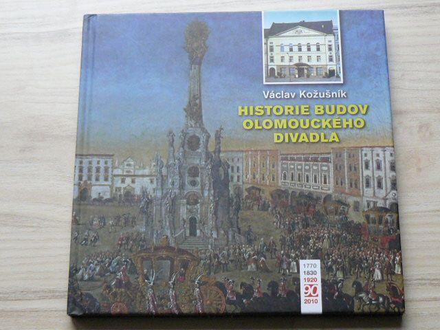 Kožušník - Historie budov olomouckého divadla (2010)