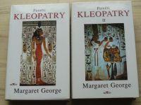 Margaret George - Paměti Kleopatry I. II. (1999) 2 knihy
