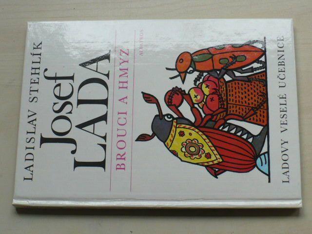 Stehlík - Ladovy veselé učebnice - Brouci a hmyz (1988) il.Lada