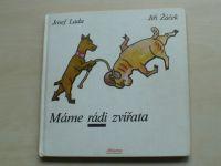 Žáček - Máme rádi zvířata (1987) il. Lada