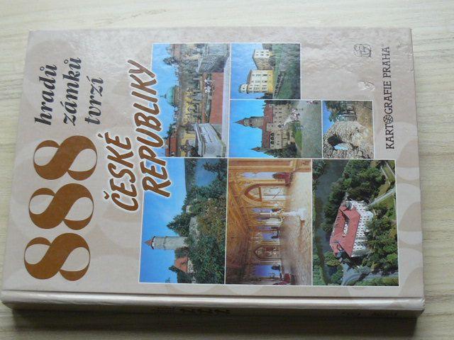 David, Soukup -- 888 hradů, zámků, tvrzí České republiky (2002)