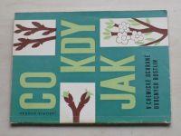 Dvořák - Co kdy jak v chemické ochraně ovocných rostlin (1968)