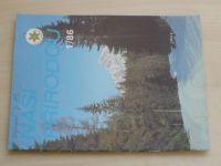 Naší přírodou 1-12 (1986) ročník VI.