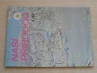 Naší přírodou 1-12 (1987) ročník VII. (chybí čísla 4 a 11, 10 čísel)