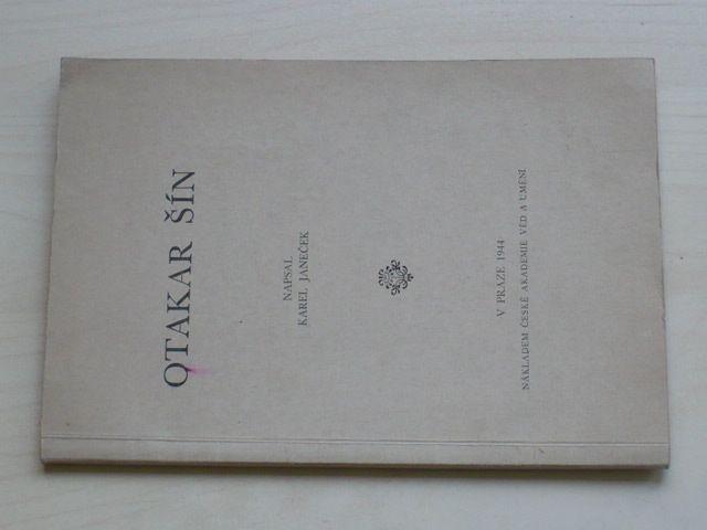 Janeček - Otakar Šín (1944)