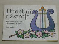 Ledečová - Hudební nástroje (1981) omalovánky