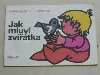 Pospíšil - Jak mluví zvířátka (1985) omalovánky