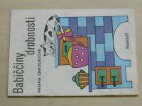Štětinová - Babiččiny drobnosti (1985) omalovánky