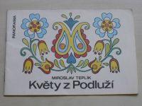 Wittbergerová - Květy z Podluží (1981) omalovánky