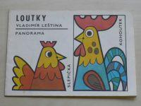 Wittbergerová - Loutky (1984) omalovánky