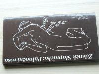 Zdeněk Slapnička - Půlnoční rosa (1989) věnování a podpis autora