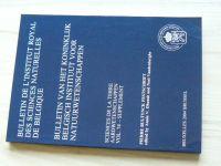Bulletin de l'Institut royal des sciences naturelles de Belgique vol.74 2004