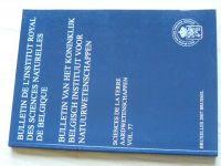 Bulletin de l'Institut royal des sciences naturelles de Belgique vol.77 2007