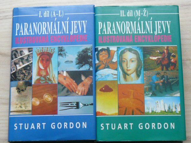Gordon - Paranormální jevy - Ilustrovaná encyklopedie I.II. díl (kompletní) 1997