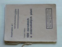Hába - 100 národních a znárodnělých písní (1940)