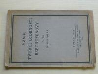 Novák - Vznik tvůrčí osobnosti Beethovenovy (1924)