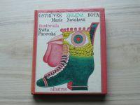 Nováková - Ostrůvek Zelená bota (1974) il. K. Pacovská