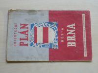 Orientační plán města Brna (1958) měřítko 1:15000