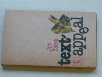 Žáček - Text appeal (1986)
