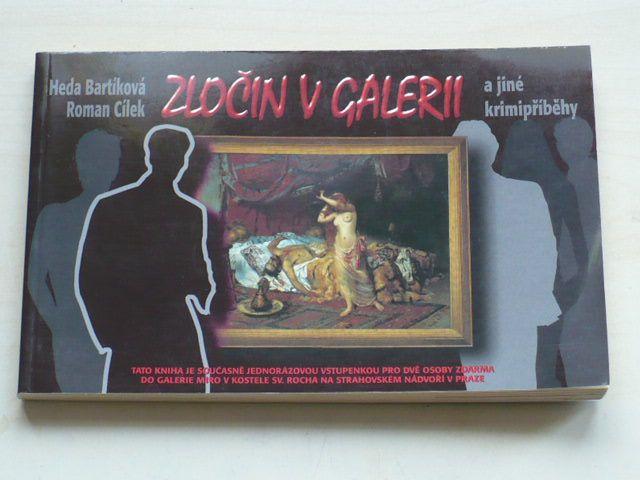 Bartíková, Cílek - Zločin v galerii a jiné krimipříběhy (2001)