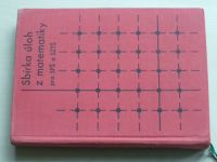 Sbírka úloh z matematiky pro SPŠ a SZTŠ (1966)