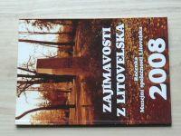 Zajímavosti z Litovelska - Ročenka Muzejní společnosti Litovelska 2008