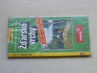 Žďárské vrchy (1997) velká cykloturistická mapa 1:75 000