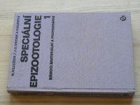 Hejlíček a  kol. - Speciální epizootologie /1 (1982) Nemoci bakteriální a protozoární