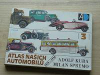 Kuba, Spremo - Atlas našich automobilů 3 1929-1936 (1989)