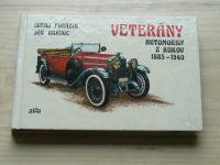 Porázik, Oravec - Veterány - Automobily z roku 1885 - 1940 (1987) slovensky