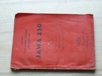 Seznam náhradních součástí pro motocykl JAWA 250 (Rok vydání 1951-1952) Pérák