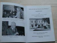 Malý průvodce po historii města Holešova - Osobnosti - historikové, archeologové,archiváři,kronikáři