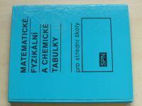 Matematické, fyzikální a chemické tabulky pro střední školy (1989)