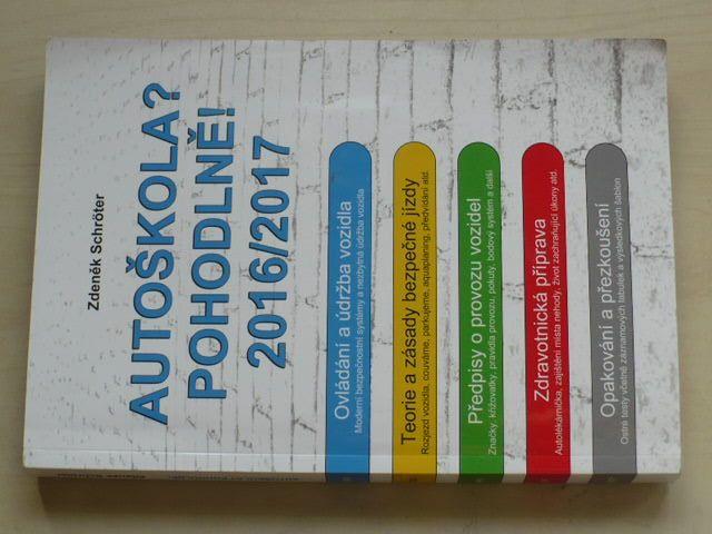 Schröter - Autoškola? Pohodlně! 2016/2017 (2016) DVD příloha