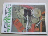 Auto&moto veterán 6-7 (1986) ročník II. (dvojčíslo)
