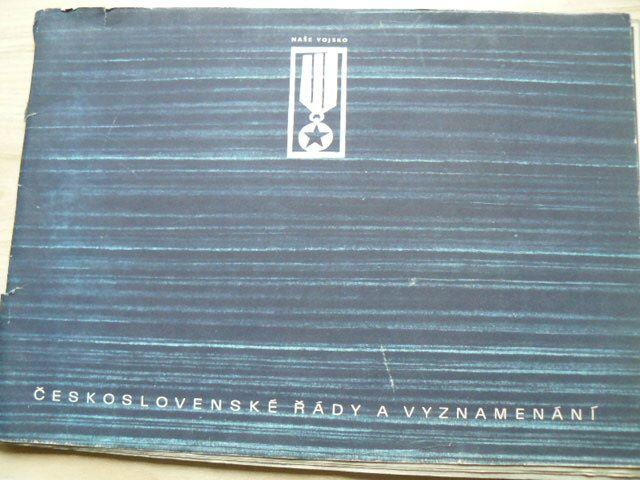 Československé řády a vyznamenání (1964)