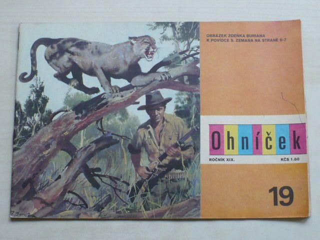 Ohníček 19 (1969) ročník XIX.