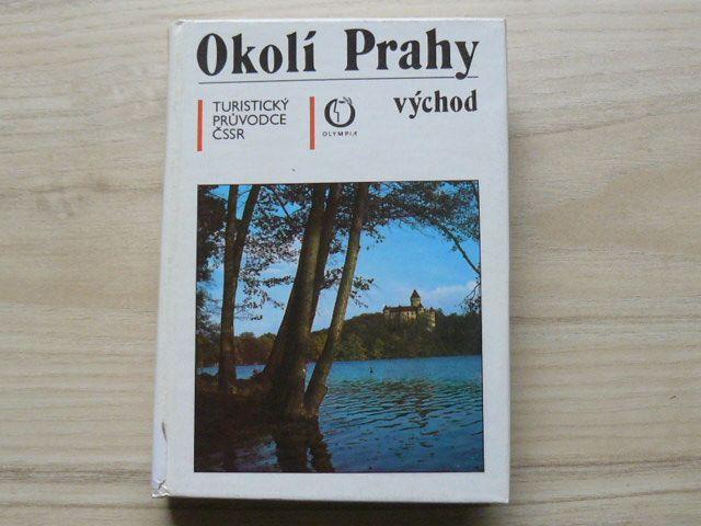 Okolí Prahy východ - Turistický průvodce ČSSR sv. 37 (1989)