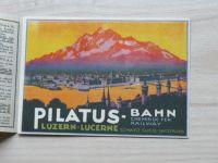 Pilatus Kulm - Bahn Chemin fer Railway - Luzern Schweiz