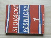 Slovácké pěsničky 1 (1948)