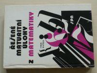 Bušek - Řešené maturitní úlohy z matematiky (1985)