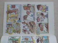 Ilustrované sešity 138 - Šafránek - Chytří psíci jezevčíci (1989)
