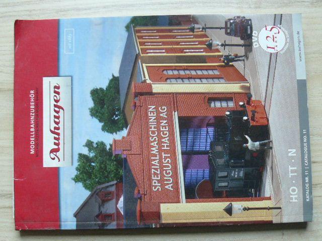 Modellbahnzubehör - Aufhagen - Katalog NR.11 HO - TT - N (2010) německy