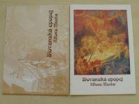 Moravský Krumlov katalog výstav - Slovanská epopej Alfons Mucha (2007) 2 sešity
