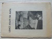 Zprávy lehkoatletického odboru S.K. Baťa Zlín Ročník III. číslo 14,16 + tabulky (1943)