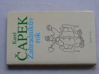 Čapek - Zahradníkův rok (1999) il. J. Čapek