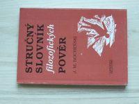 Bocheňski - Stručný slovník filosofických pověr (1993)