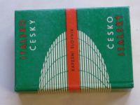 Italsko - český; Česko - italský kapesní slovník (1971)