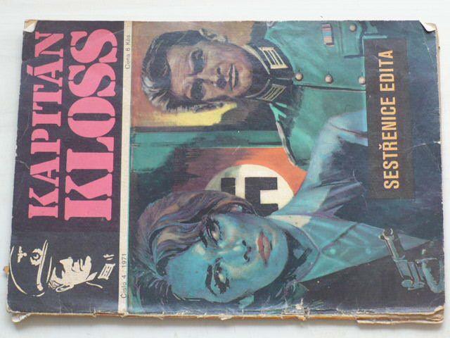Kapitán Kloss č. 4 - Sestřenice Edita (1971)