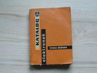 Katalog elektronek - Tesla Rožnov 1964-5